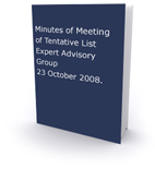 Minutes of Meeting 23rd Oct 2008 Cover