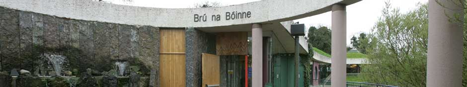 Brú na Bóinne Visitor Centre Entrance (abstract detailed photo)